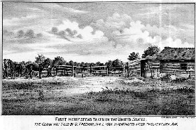The first homestead
