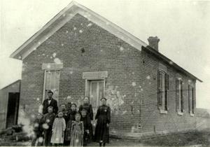Freeman School, 1880's. Courtesy National Park Service.
