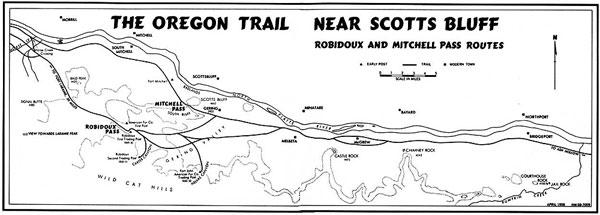Oregon Trail Sites In The Platte River Valley Of Nebraska