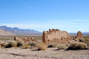 Ruins in Bullfrog, Nevada