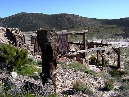 Delamar Nevada The Widow Maker Mining Camp