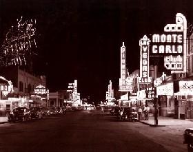 Downtown Las Vegas, 1948