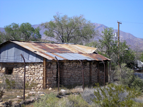 Oldest building in Goodsprings, Nevada