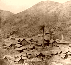 Gould & Curry Mine in Virginia City, Nevada