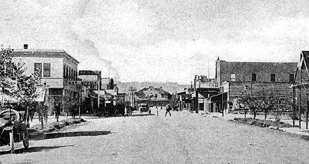 Las Vegas, Nevada in 1918