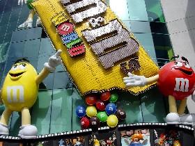 M&M World in Las Vegas, Nevada