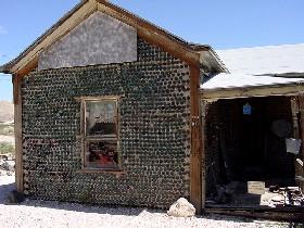 Bottle Building in Rhyolite, Nevada
