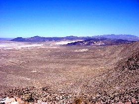 Stillwater Range in Churchill County, Nevada