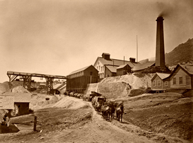 Savage Works Mill, Virginia City, Nevada