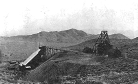Gold Bar Mine and Mill, Nevada, 1908
