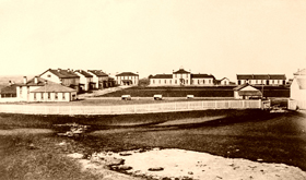 Fort Totten in the mid 19th Century
