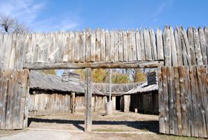 Fort Mandan Entry Way, Kathy Weiser-Alexander 2011