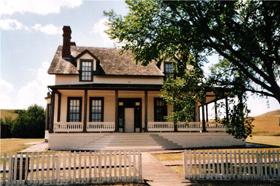 Custer House, Fort Abraham Lincoln, North Dakota