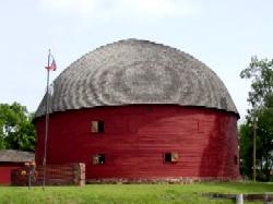 Round Barn in Arcadia, Oklahoma