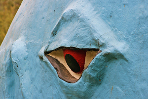 Eye of the Blue Whale, Catoosa, Oklahoma by David Fisk