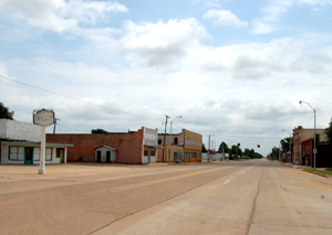 Route 66 in Erick, Oklahoma