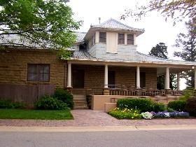 Thomas Gilcrease's Rockhouse home today