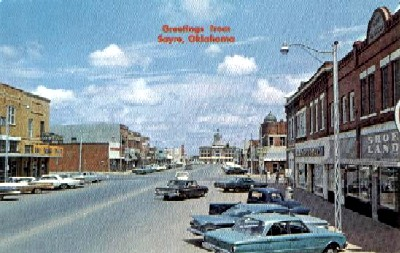 Greetings From Sayre, Oklahoma