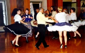 The Square Dance is Oklahoma's State Dance.