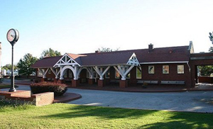 Frisco Depot in Bristow, Oklahoma