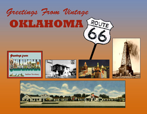 Greetings From Vintage Oklahoma 66