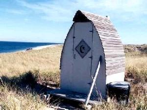 Beach Outhouse
