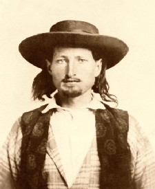 Bill Hickok in 1858