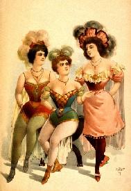 Burlesque, 1899