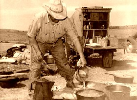 Camp Cook, Marfa, Texas, by Russell Lee, 1939