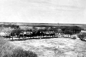 Fort Larned, Kansas in the 1860s,