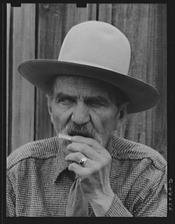 Montana Lawmen Frank Latta, 1939 - Photo Courtesy of the National Library of Congress