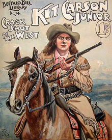 Kit Carson, Junior
