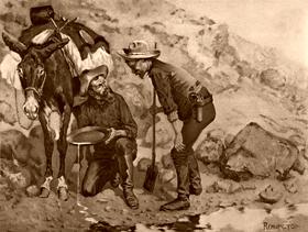 Miners prospecting