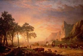 Albert Bierstadt's Oregon Trail, 1869