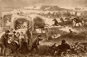 Pilgrims on the Plains