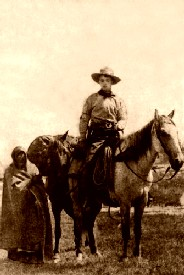 Actual Pony Express Rider in 1860 or 1861