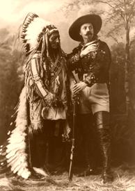 Sitting Bull and Buffalo Bill, 1885
