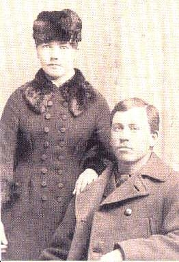 Laura and Almanzo in 1885