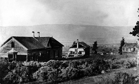 Fort Dalles about 1890.
