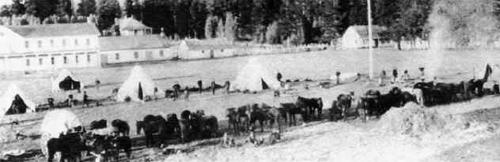 Fort Klamath historical photo