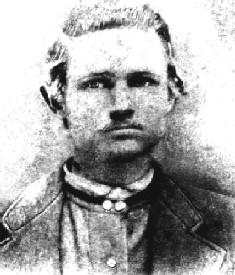 Rube Burrow, train robber