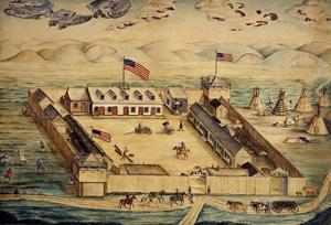 Fort Pierre Chouteau, South Dakota