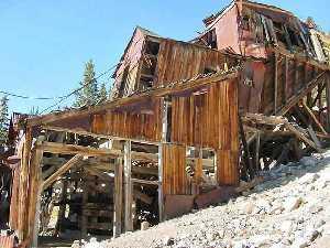 Mary Murphy Mine near St. Elmo, Colorado