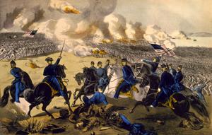 Battle at Pittsburg Landing, Shiloh Battle, Tennessee
