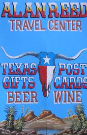 Alanreed, Texas Sign
