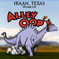 Alley Oop Park in Iraan, Texas