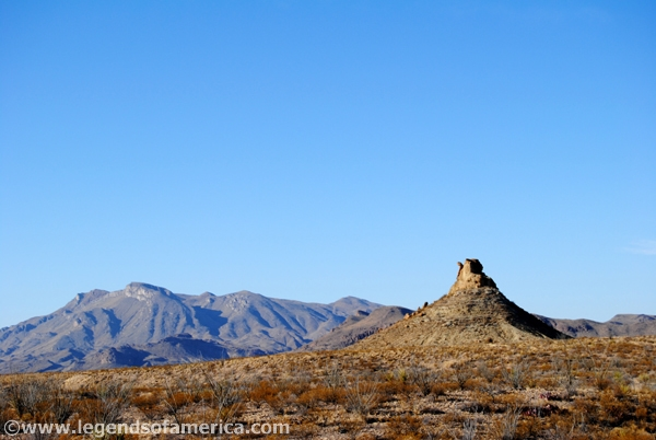 Camel Rock at Big Bend National Park, Texas - Kathy Weiser-Alexander 2011
