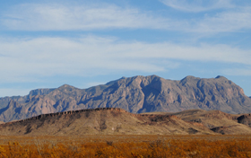 Big Bend National Park, rugged mountains. Kathy Weiser-Alexander 2011
