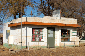 Little Juarez Cafe, Glenrio, Texas