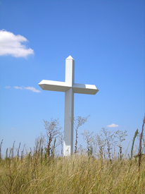 Cross at Groom, Texas